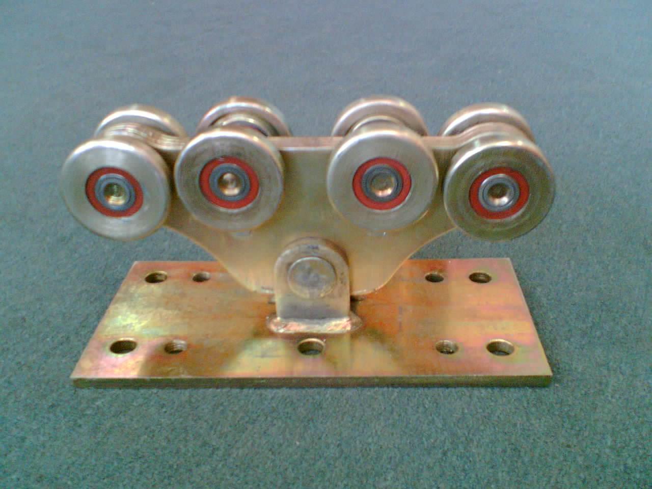 (комплектующие) для откатных ворот, ролики откатных ворот 85