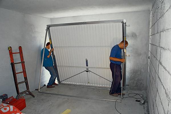 Автоматический секционных ворот для гаража цена
